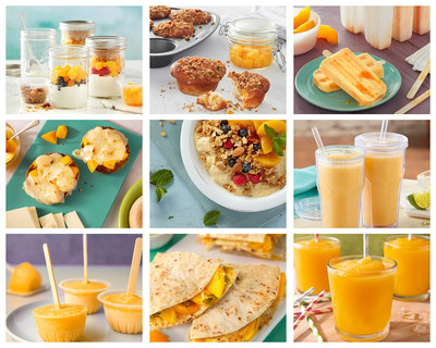 "Nine New California Cling Peach ""Just for Kids"" recipes!"