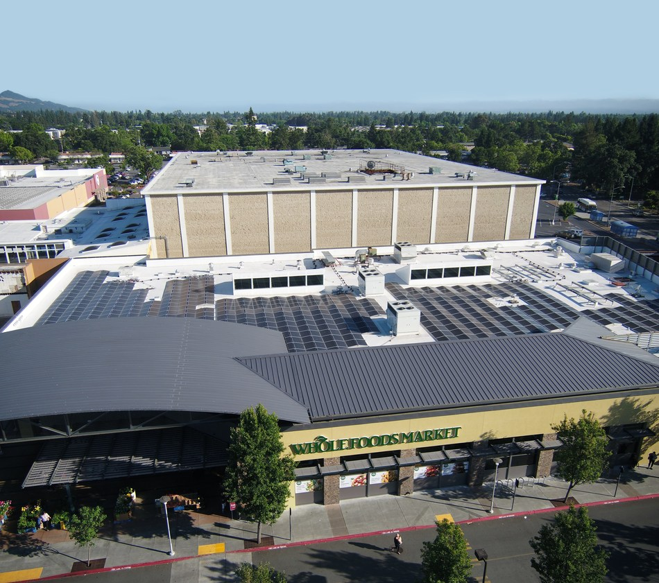 SunPower Solar Systems Powered Up at Eight Whole Foods Market
