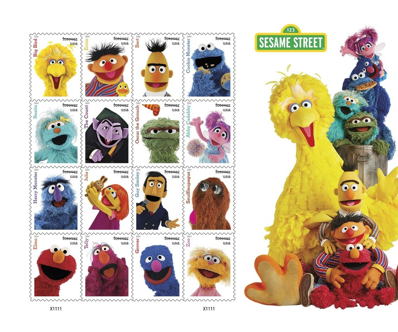 How Many Forever Stamps To Mail A Letter To Canada.Sesame Street Forever Stamps Brought To You By The Letters U
