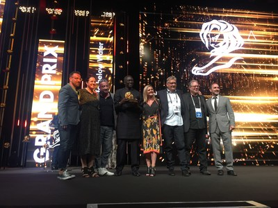 The Lion's Share Fund Wins Grand Prix At Cannes Festival