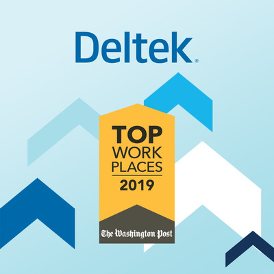 The Washington Post Names Deltek a 2019 Top Workplace!