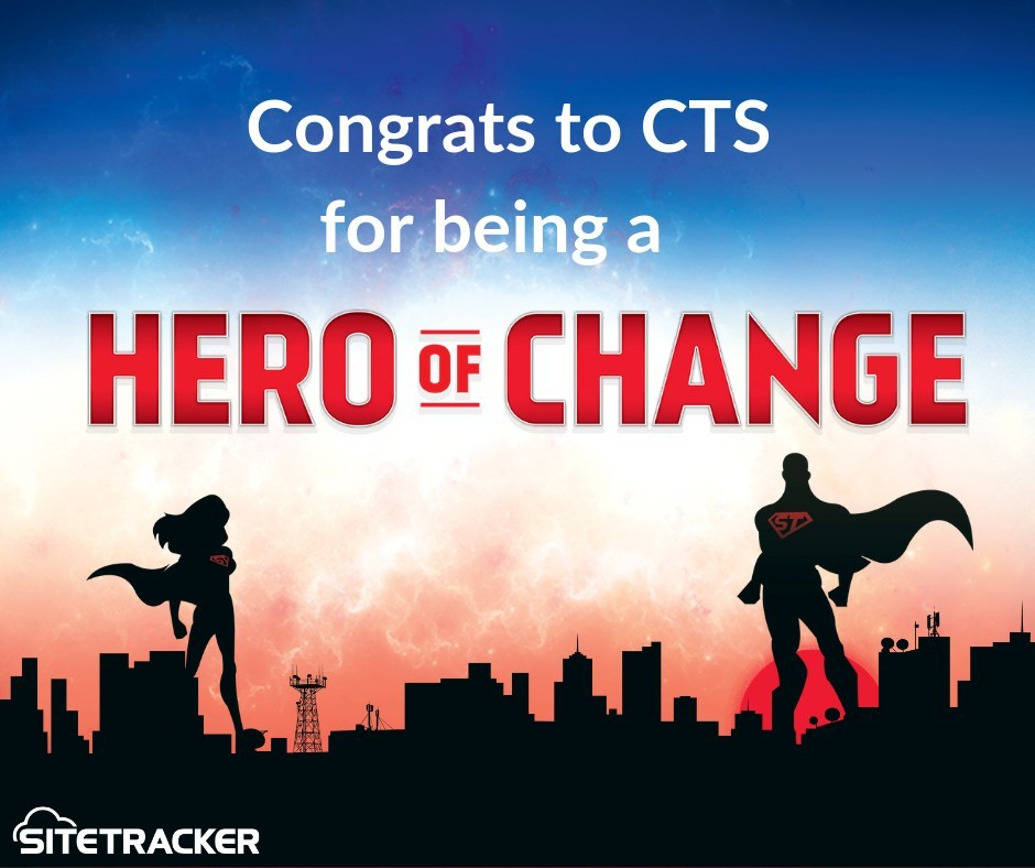 CTS will use the Sitetracker Platform to enable their next phase of growth as they deploy and maintain DAS projects across multiple regions.