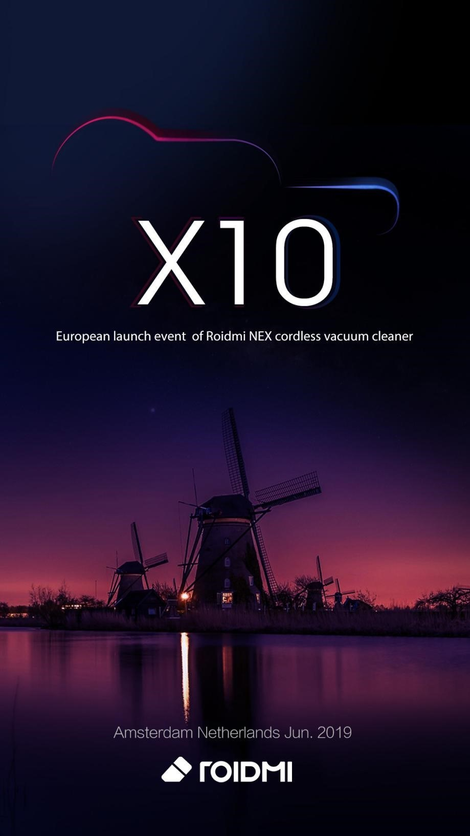 XIAOMI ROIDMI unveils X10 - the new-generation of mop & vacuum cleaning