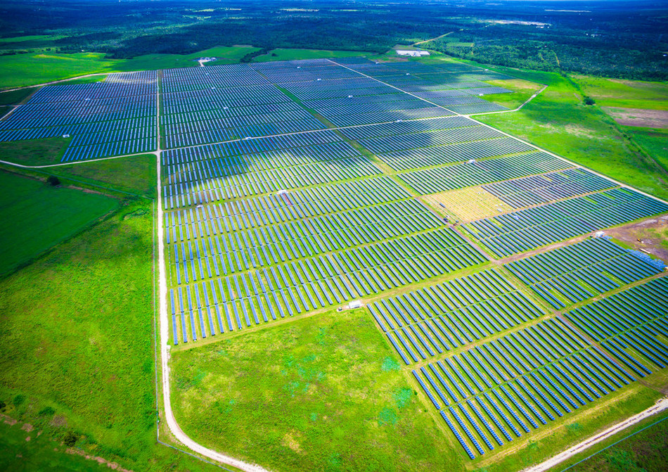 Webberville Solar Farm, is a 35 MW  photovoltaic array in located in near Austin, Texas. It has 127,728 Trina Solar solar panels mounted on single-axis trackers.