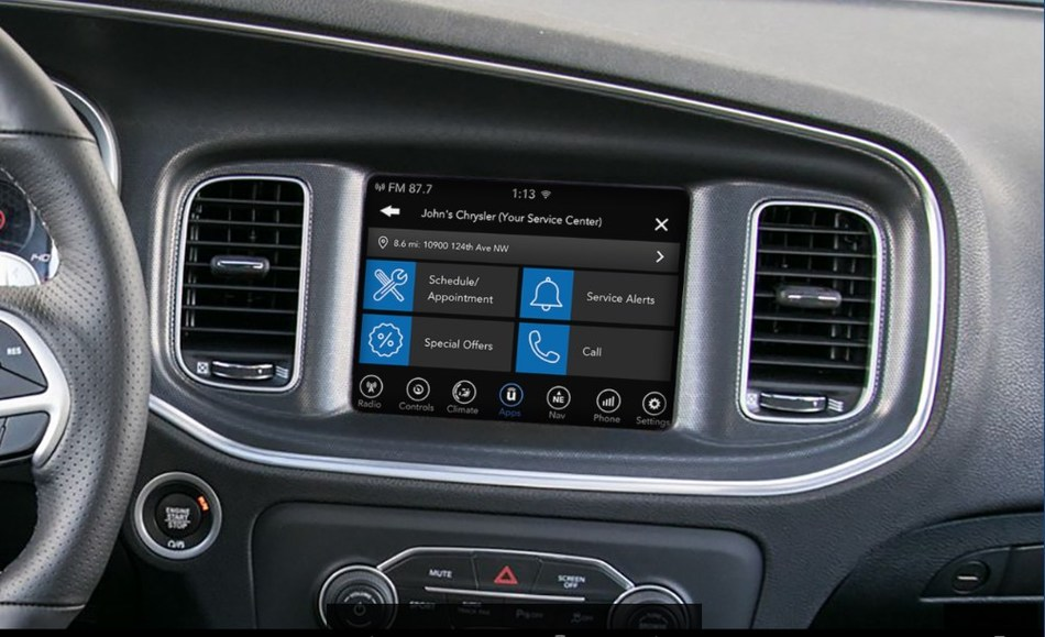 Uconnect Market is a new platform that allows FCA customers to make on-demand reservations and to purchase products and services directly from the vehicle touchscreen