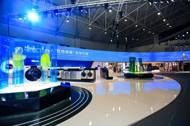 Haier Unveils Its Latest 2019 Innovations to Enrich its Internet of Clothes Capacity. (PRNewsfoto/Haier Home Appliances)