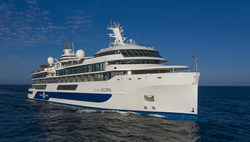 Celebrity Flora is the first expedition mega yacht of its kind designed specifically for the Galapagos Islands.