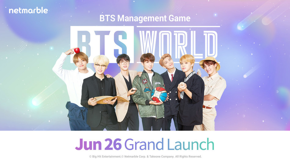 BTS WORLD Is Available Worldwide On iOS And Android Devices Starting Today (PRNewsfoto/Netmarble Corp.)