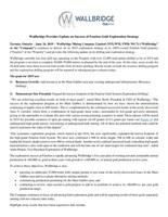 Wallbridge Provides Update on Success of Fenelon Gold Exploration Strategy (CNW Group/Wallbridge Mining Company Limited)