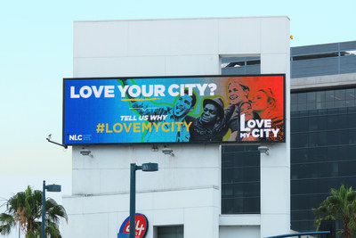 Love My City Billboard