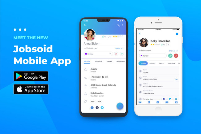 Meet the new Jobsoid Mobile App