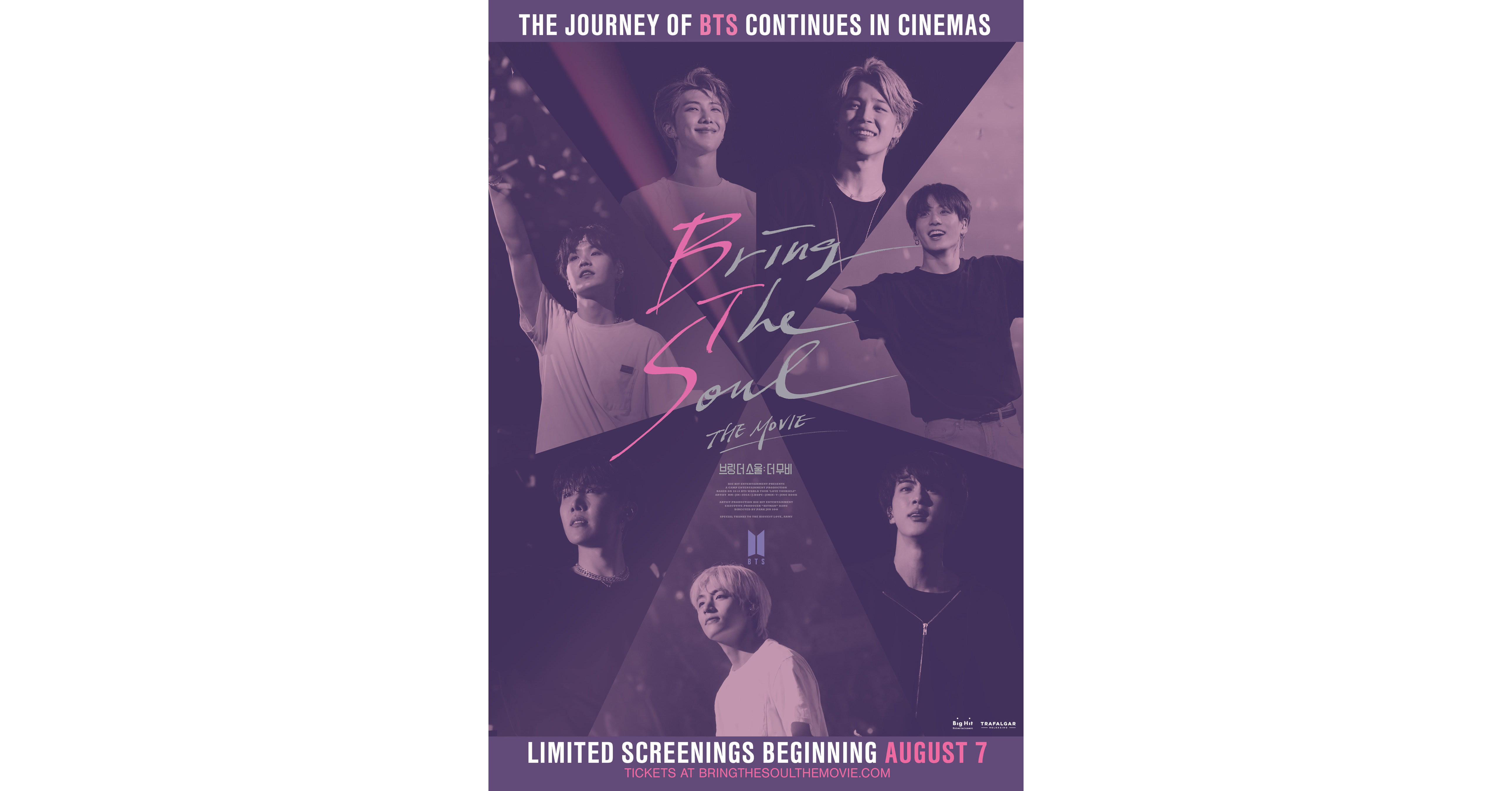 The Latest Bts Feature Film Bring The Soul The Movie In Theaters