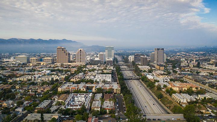 """Risky Roads"" - 134 Freeway, Glendale, CA"
