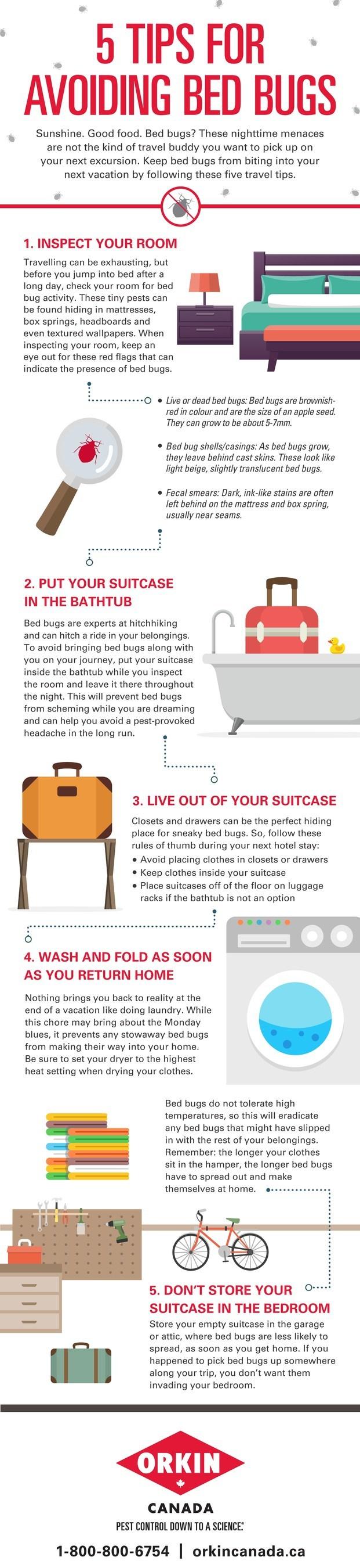 Avoiding Bed Bugs (CNW Group/Orkin Canada)