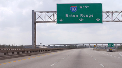 """Risky Roads"" - Interstate 10, Baton Rouge, LA"