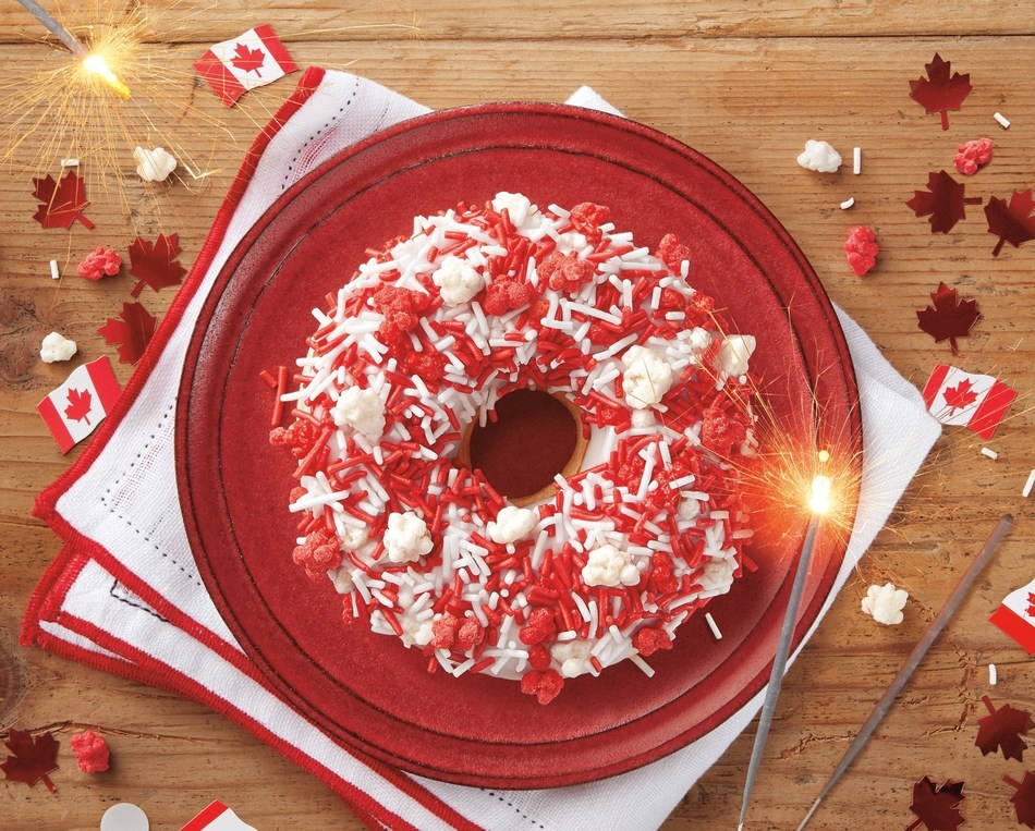 Celebrate Canada Day with a BANG with the new Tim Hortons® Fireworks Donut (CNW Group/Tim Hortons)
