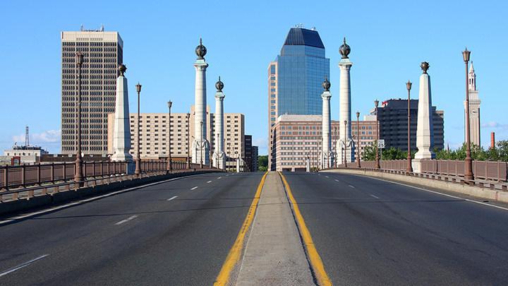 """Risky Roads"" - Interestatal 91, Springfield, MA"
