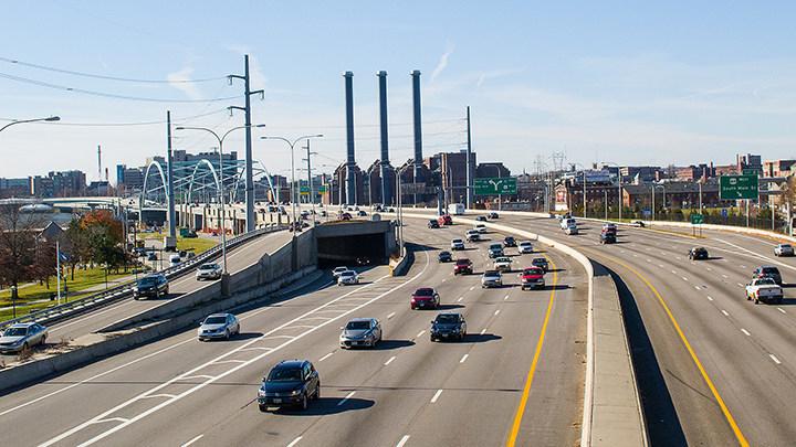 """Risky Roads"" - Ruta 95, Providence, RI"