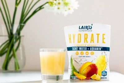 Laird Superfood Launches new Pineapple Mango HYDRATE Coconut Water