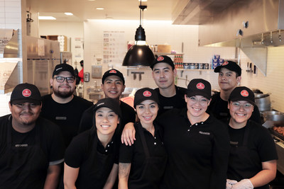 Chipotle crew members in Southern California compete for the company's new quarterly bonus program