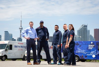 Purolator announces record investments in its people and culture to fuel job growth and employee training, learning and development opportunities across Canada for the next generation workforce. (CNW Group/Purolator Inc.)