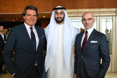 Anthony Ritossa, Chairman of Ritossa Family Office; Faris Al Tahtamooni, Associate Director-Strategic Partnerships, The Office of Sheikh Sultan Bin Abdullah Al Qasimi, UAE; Markus Lehner, Principal, Markus Lehner Family Office, Monaco and Summit Chairman