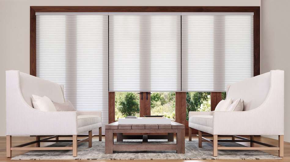 Sonnette shades are available in a range of on-trend textures and colors, from popular whites and neutrals to vibrant hues. (CNW Group/Hunter Douglas)