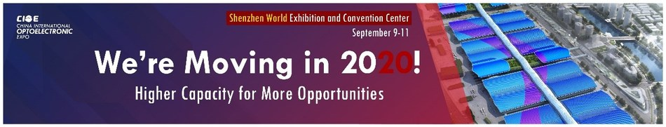 CIOE to move to Shenzhen World in 2020