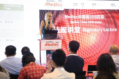 Medtec China 2018 onsite Regulatory Lecture