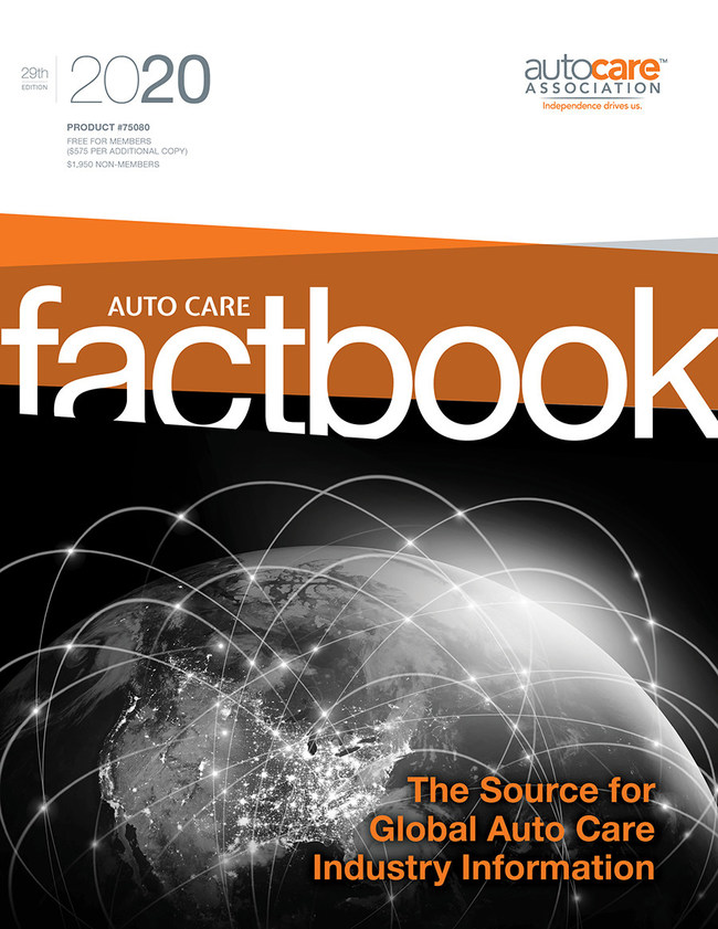 The Auto Care Factbook provides all the information and analysis needed to keep thriving in the dynamic automotive aftermarket – which is projected to be a $448 billion industry in 2022.