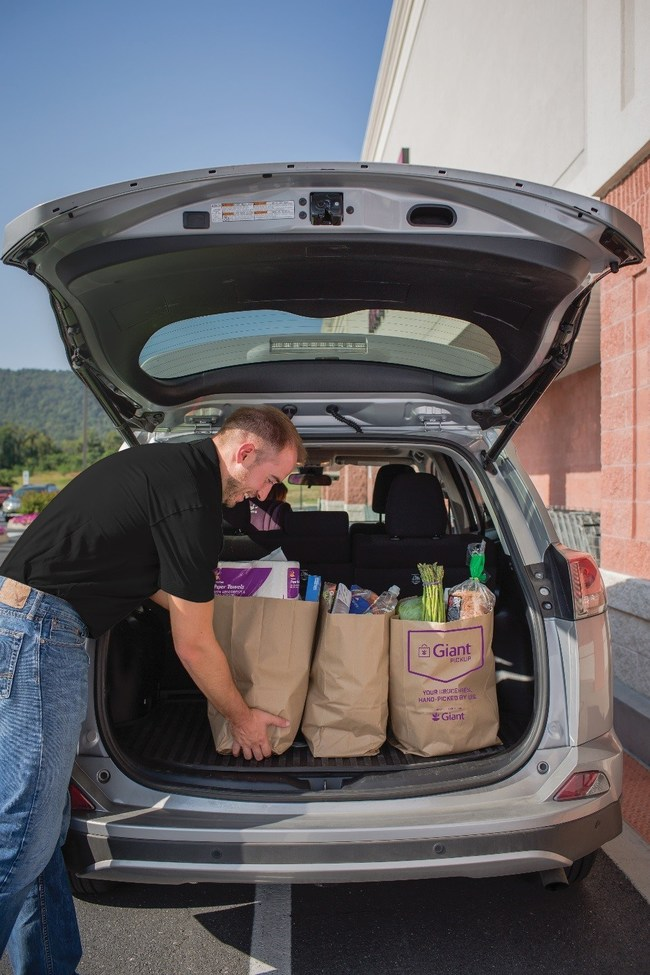 Giant Food Launches Pick up Service