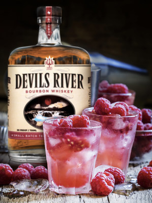The Razmanian Devil is a great alternative to the typical margarita.  But don't let the name fool you.  Although devilishly good, this fresh take will cool even the hottest summer days.  Frozen or on-the-rocks, our 90-proof Devils River Bourbon mixes well with lemon juice, raspberry liqueur, and simple syrup, finished with a splash of lemonade.