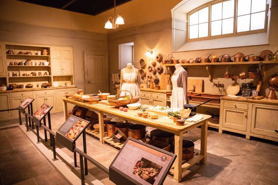 Fans of Downton Abbey can visit Mrs. Patmore's kitchen in Downton Abbey: The Exhibition, opening at Biltmore Nov. 8, 2019.
