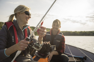 Fishing consistently tops the list of favourite outdoor sports in Canada, and you do not have to own a boat to enjoy this activity. Fishing charters are available in many locations across Canada and offer expert guides to help you reel in your big catch. (CNW Group/Discover Boating Canada)