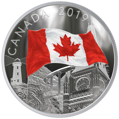 "The Royal Canadian Mint's ""Fabric of Canada"" silver collector coin"