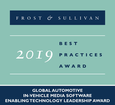 2019 Global Automotive In-Vehicle Media Software Enabling Technology Leadership Award
