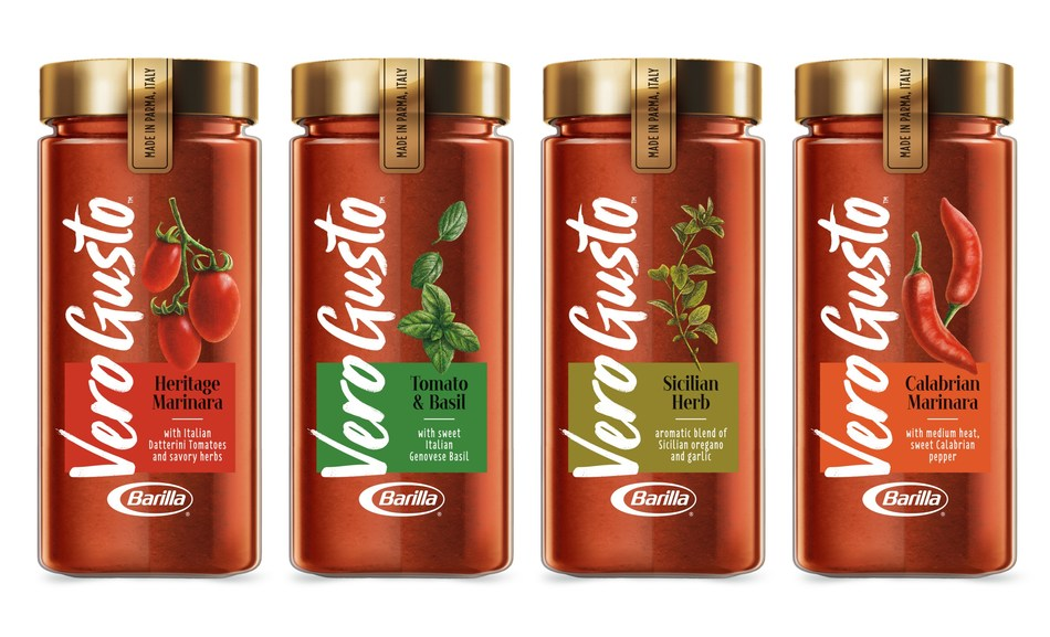 Vero Gusto™ comes in four varieties all hand-crafted in Italy.