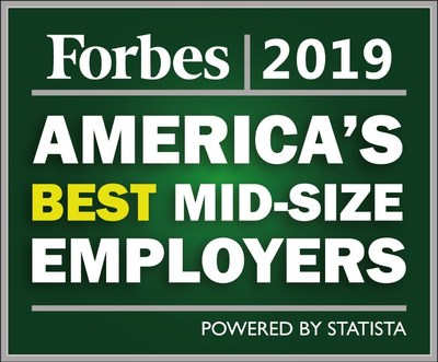 Forbes Best Mid-Size Companies 2019