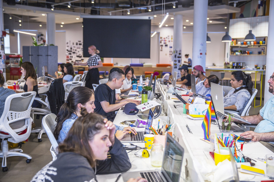 Class in session at the Wix Design Playground in New York City