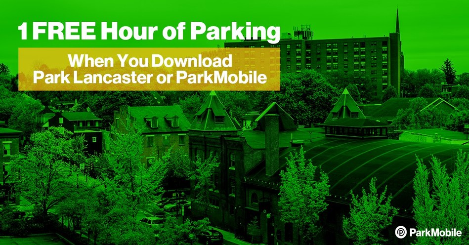 "New users of the ParkMobile or Park Lancaster app will get 1 hour of free parking in July when they use the promotional code ""LancFreeHour""."
