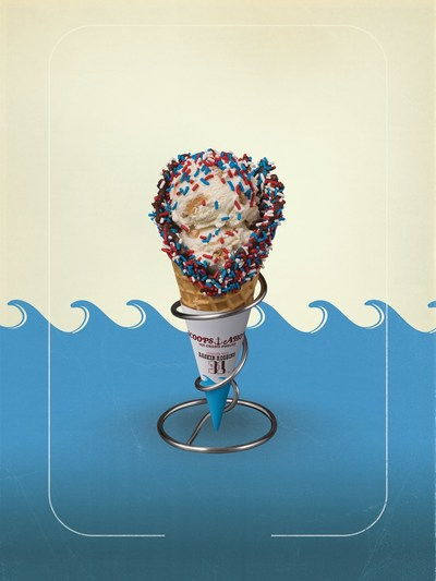 Baskin-Robbins' July Flavor of the Month, the USS Butterscotch, is straight from the Stanger Things Scoops Ahoy shop and is just one of the Stranger Things that is happening at Baskin-Robbins this summer. Stranger Things 3 starts July 4 only on Netflix. For more information, visit www.baskinrobbins.com/strangerthings.
