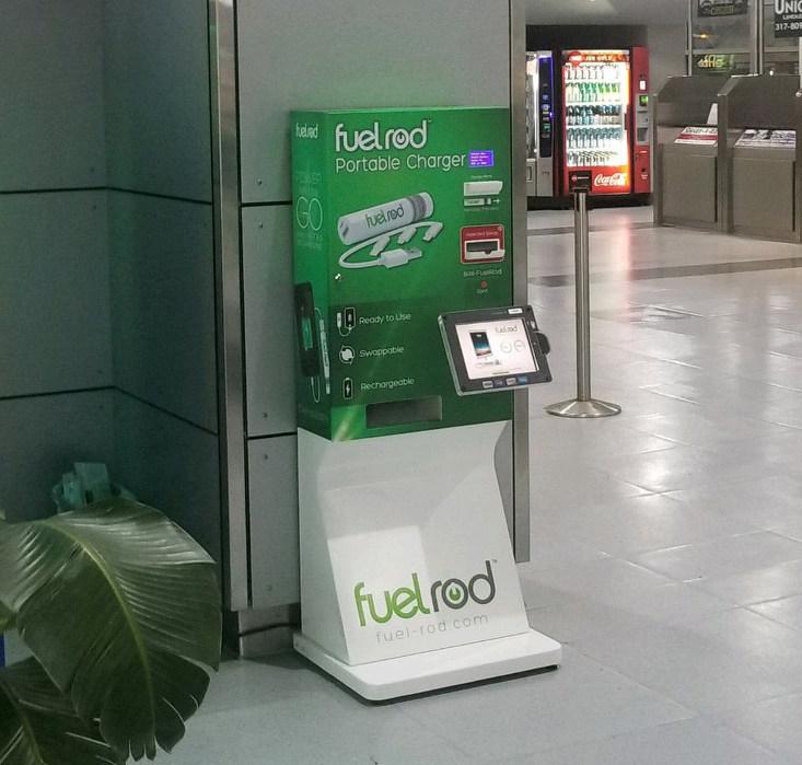 FuelRod Mobile Power Ready to Go Kiosk