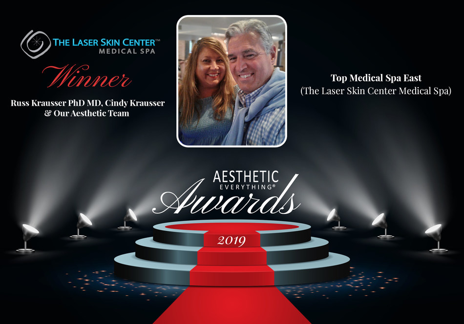"""The Laser Skin Center Medical Spa Receives """"Top Medical Spa East"""" in the 2019 Aesthetic Everything® Aesthetic and Cosmetic Medicine Awards"""
