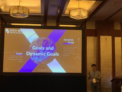 Fan Xing, Co-founder and CTO of Yixue Group's Squirrel AI attends the O'Reilly Artificial Intelligence Conference
