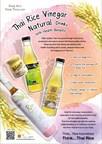 Thai Rice Vinegar Drinks Ensure Health Benefits from Nature