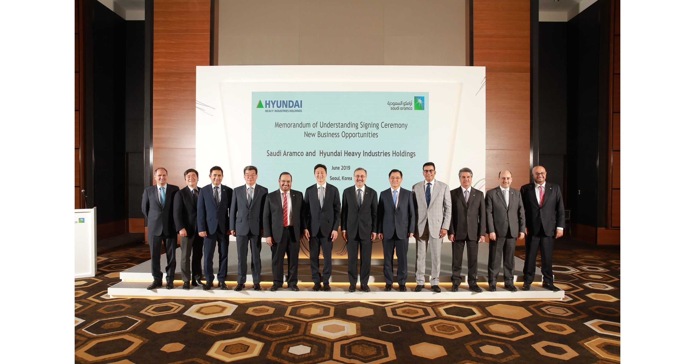 Saudi Aramco Signs 12 Agreements With South Korean Partners