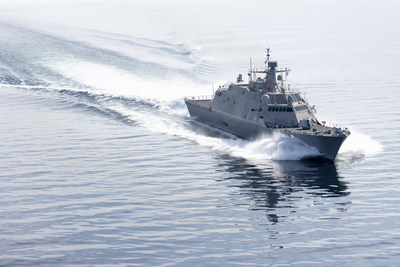 LCS 17 (Indianapolis) completed Acceptance Trials in Lake Michigan.