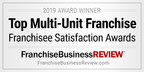 HouseMaster® Named a Top Multi-Unit Franchise and Top Low-Cost Franchise by Franchise Business Review