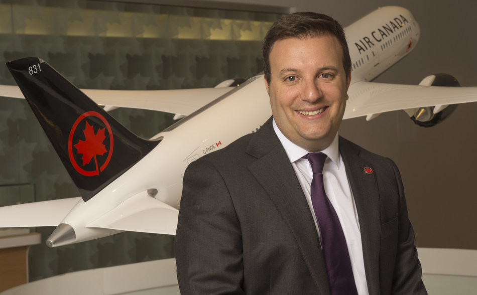 Mark Galardo, Vice President, Network Planning at Air Canada (CNW Group/Air Canada)