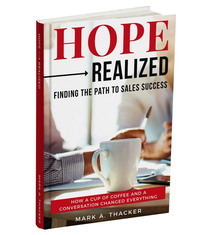 New Book Hope Realized: Finding The Path To Sales Success
